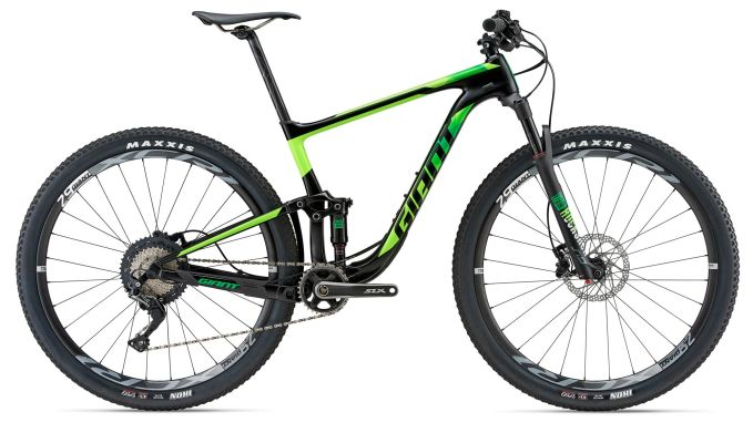 Full Suspension, MTB, Mountain Bike, Carbon