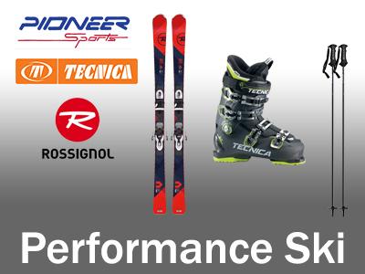 Quality rental skis