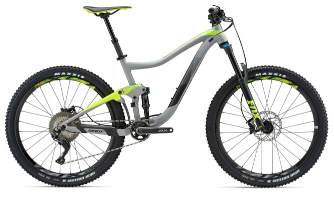 full suspension, slx, giant